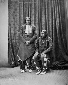 Medicine Pipe, Fool Dog – Arapaho – 1873