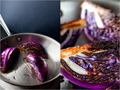 Recipes for Health - Seared Red Cabbage Wedges - NYTimes.com