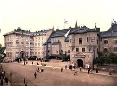 Koenigsberg Schloss Ostseite 1900