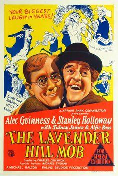1951 The lavender hill mob - Oro en barras-Charles Crichton