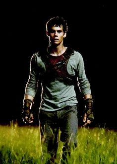 Dylan O'Brien in The Maze Runner 8/14