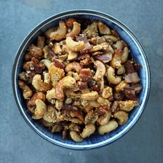 Eff that diet! This snack mix has bacon in it, and we're not apologizing: