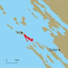 Information about Molat, Croatia