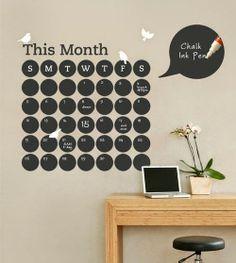 quiero una casa pinterest: calendario semanal