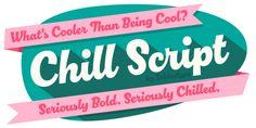 Chill Script™ font download
