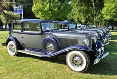 1934 Auburn 1250 Twelve at the Concours d'Elegance of America at St. John's