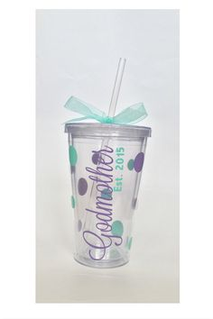 Personalized Godmother gift, Godmother, Godmother reveal, Godmother Tumbler, Gift for Godmother, Batism, Baptism gift, Christening gift