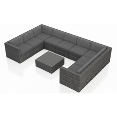 Lounge Sitzgruppe Gartenmobel Polyrattan Rattan Gartenset Poly
