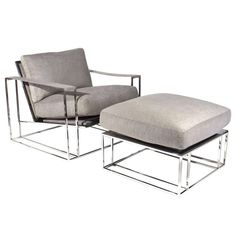 Milo Baughman Chair | From a unique collection of antique and modern lounge chairs at http://www.1stdibs.com/furniture/seating/lounge-chairs/