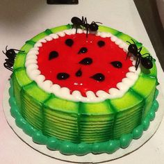 DQ Cakes Dairy Queen ...watermelon