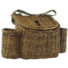 English fisherman's basket.. looking for one of these for over the changing table!