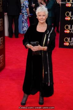 Judi Dench Olivier Awards 2014 held at the Royal Opera House http://www.icelebz.com/events/olivier_awards_2014_held_at_the_royal_opera_house/photo49.html
