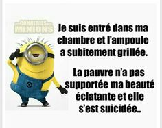 Pourquoi Ca m'est jamais arrivé ? Minion Humour, Minion Jokes, Minions Quotes, Rage, Funy Quotes, Lol, Happy Fun, Funny Cute, True Stories