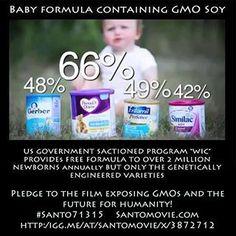 baby formula has gmo