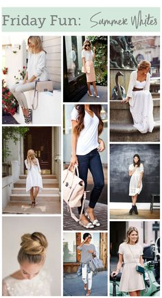 Friday Fun: Summer Whites
