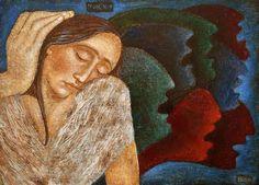 Catholic Art, Sacred Art, Illusions, Religion, Gallery, Artwork, Painting, Icons, Watercolors