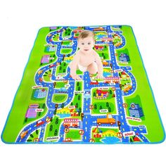 Kids Rug Play Mat Kid Toy Car Mats Children Toys Carpet Foam Mat Educational #KidsRugChina #PlayMat