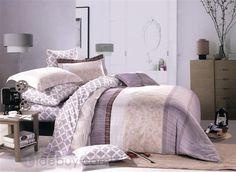 プレインクラシックパターンコットン4点寝具セット
