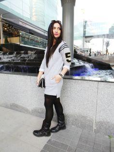 Ne Giydim / Sweat Elbise | Gleam Fashion / Moda ve Kişisel Blog #style #fashion #streetstyle #ootd