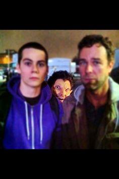 Derek be creepin