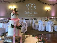 Set up and ready to go for Luke and Alex's big day! Providing DJ, uplighting, and projected monogram services today! Wedding Dj, Wedding Ideas, Ready To Go, Big Day, Monogram, Table Decorations, Instagram, Monogram Tote, Wedding Ceremony Ideas