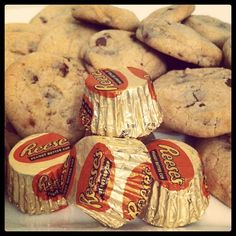 homemade Reeses Peanut butter cookies
