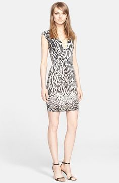 Roberto+Cavalli+Animal+Print+Stretch+Jersey+Dress+(Nordstrom+Exclusive)+available+at+#Nordstrom