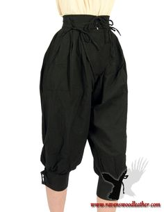Ravenswood Leather Cotton Pirate Pants