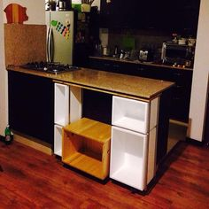 "estantería auxiliar ""chef-cho"" #furniture #mobiliario #woodworking #madera #interiordesign"