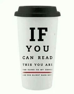 If you can read this......#coffee