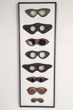 Lost Found Art - Antique Motorcycle Goggles
