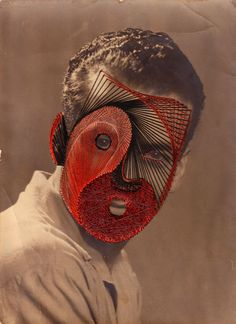 The Italian artist Maurizio Anzeri makes his portraits by sewing directly into found vintage photographs. Below some of his awesome collages. Inspiration Art, Art Inspo, Photo Sculpture, Photo Portrait, Collage Portrait, Saatchi Gallery, Photocollage, A Level Art, Art Moderne