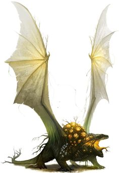 Ladon (Greek) - Plants with the form of dragons, they protect forests and can turn everything into plants with their breath weapon.