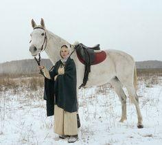 Costume Eastern Slavs: Slovens from Novgorod, 11 се. - Быть живым -