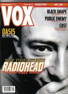Radiohead - Magazine Covers - 1997 - VOX