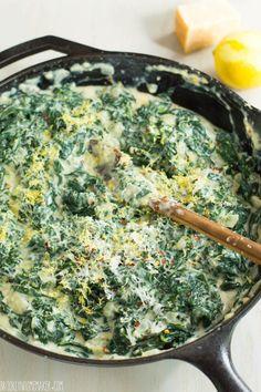 creamed kale gratin | Brooklyn Homemaker