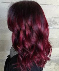 In this Hair Color idea you may see many different more hair color ideas to apply on your hair. But this Dark Hair with Red Ringlets also one of the most trendy and stylish ideas we found today for our users. In 2018 every girls want to make new styles for looking gorgeous. We hope you like this hair color.