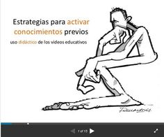 """Hola: Compartimos una interesante presentación sobre """"Uso de los Videos Educativos para Activar Conocimientos Previos"""" Un gran saludo.  Visto en: slideshare.net Acceda a la preentación desde:..."""