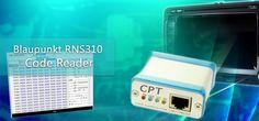 #RNS300 #Lowline code reader - odczyt kodu po podłączeniu do punktów testowych.
