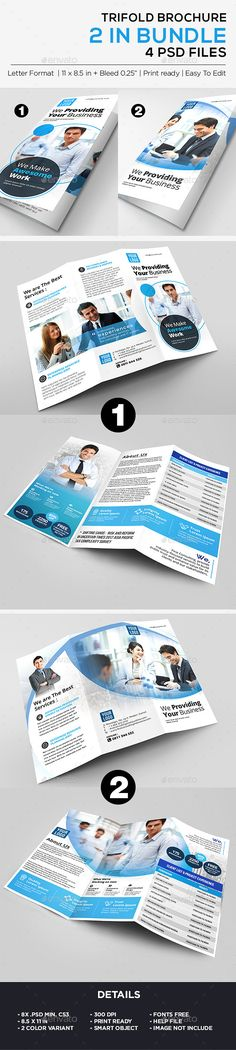 Jane #Political #Tri-Fold #Brochure Template 2 - Corporate Brochures - political brochure