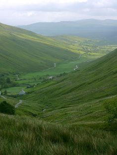 Ireland: Glengesh Pass on the Slieve League Peninsula. (County Donegal)