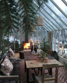Outdoor Rooms, Outdoor Living, Outdoor Decor, Summer Garden, Home And Garden, Home Greenhouse, Design Furniture, Glass House, Dream Rooms