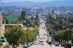 View from Altadena to Pasadena, CA