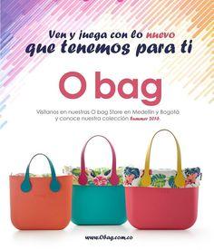 Visítanos en Bogotá y Medellín y conoce todo lo que O bag tiene para ti. www.Obag.com.co
