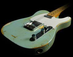 Fender Custom Shop '58 Telecaster Heavy Relic, Sonic Blue