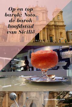 Bekijk de mooie barokke gebouwen van Noto in deze blog! Travel Destinations, Travel Tips, Sicily Travel, Cities In Europe, Summer Travel, Travel Inspiration, Traveling By Yourself, Italy, Dutch