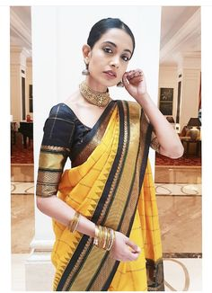 Saree Blouse Patterns, Saree Blouse Designs, Ethnic Sarees, Indian Sarees, Silk Sarees, Indian Attire, Indian Outfits, Bangladeshi Saree, Set Saree