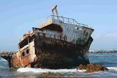 cape agulhas - Google Search Shipwreck, Great Places, Sailing Ships, South Africa, Abandoned, Around The Worlds, Boat, Tours, Google