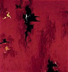 Clyfford Still, my favorite abstract expressionalist...