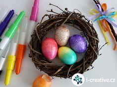 Návod na kropenatá velikonoční vajíčka